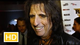 Alice Cooper interview at the Classic Rock Roll Honour Awards 2015