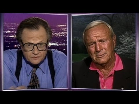 Arnold Palmer reflects on his career (1997)