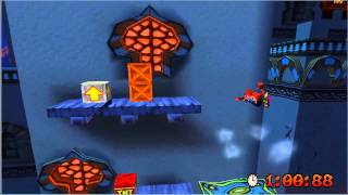 Crash Bandicoot 3 - Level 13 High Time | Time Trial