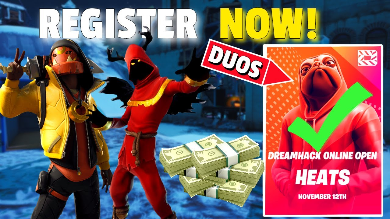 How To Register For Duos Dreamhack Qualify In Fortnite Dreamhack Youtube Na west is the fourth monthly solo dreamhack open event hosted in north america. how to register for duos dreamhack qualify in fortnite dreamhack