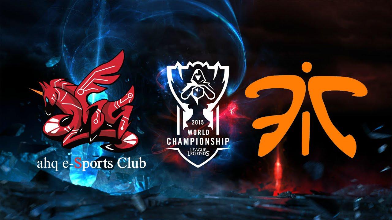 《LOL》2015 世界大賽 - 小組賽 Day 3 (粵語) ahq vs FNC - YouTube