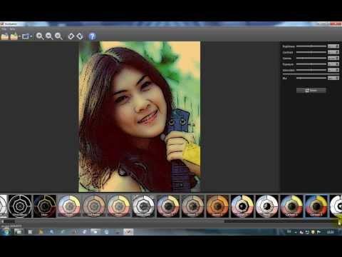 XnSketch โปรแกรมแต่งภาพที่ง่ายและฟรี