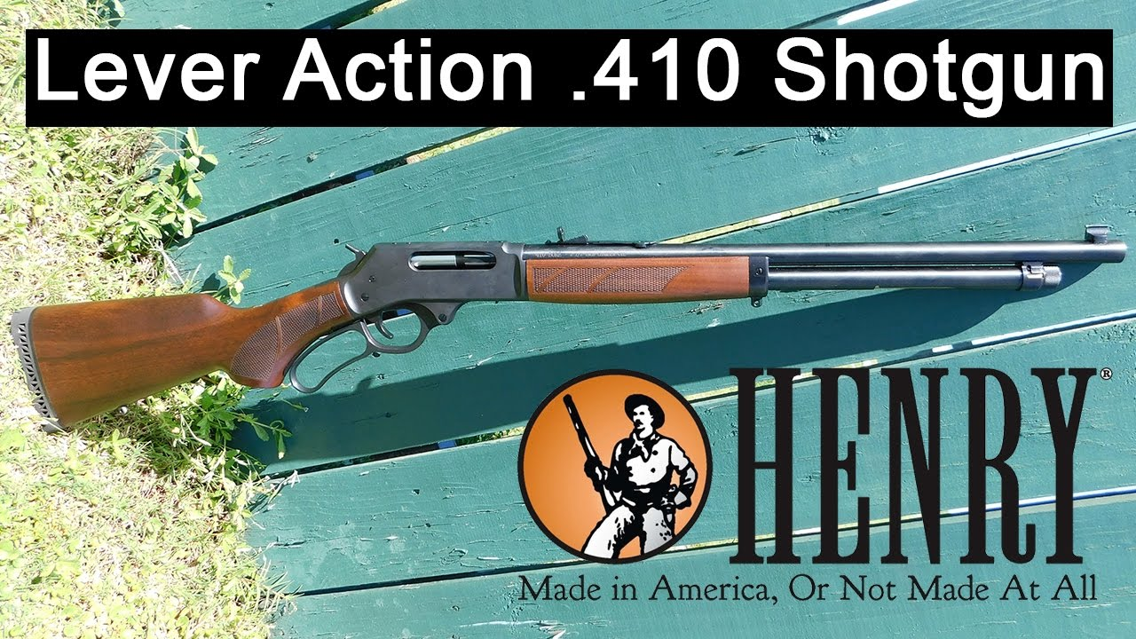 Gun Review: Henry Repeating Arms' 410 Lever Action shotgun (VIDEO)