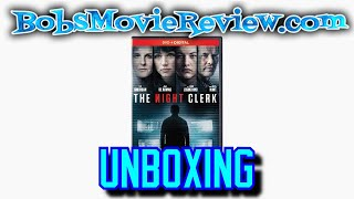 The Night Clerk Dvd Unboxing