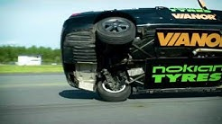 Nokian Tyres - Making of the fastest side wheelie in a car