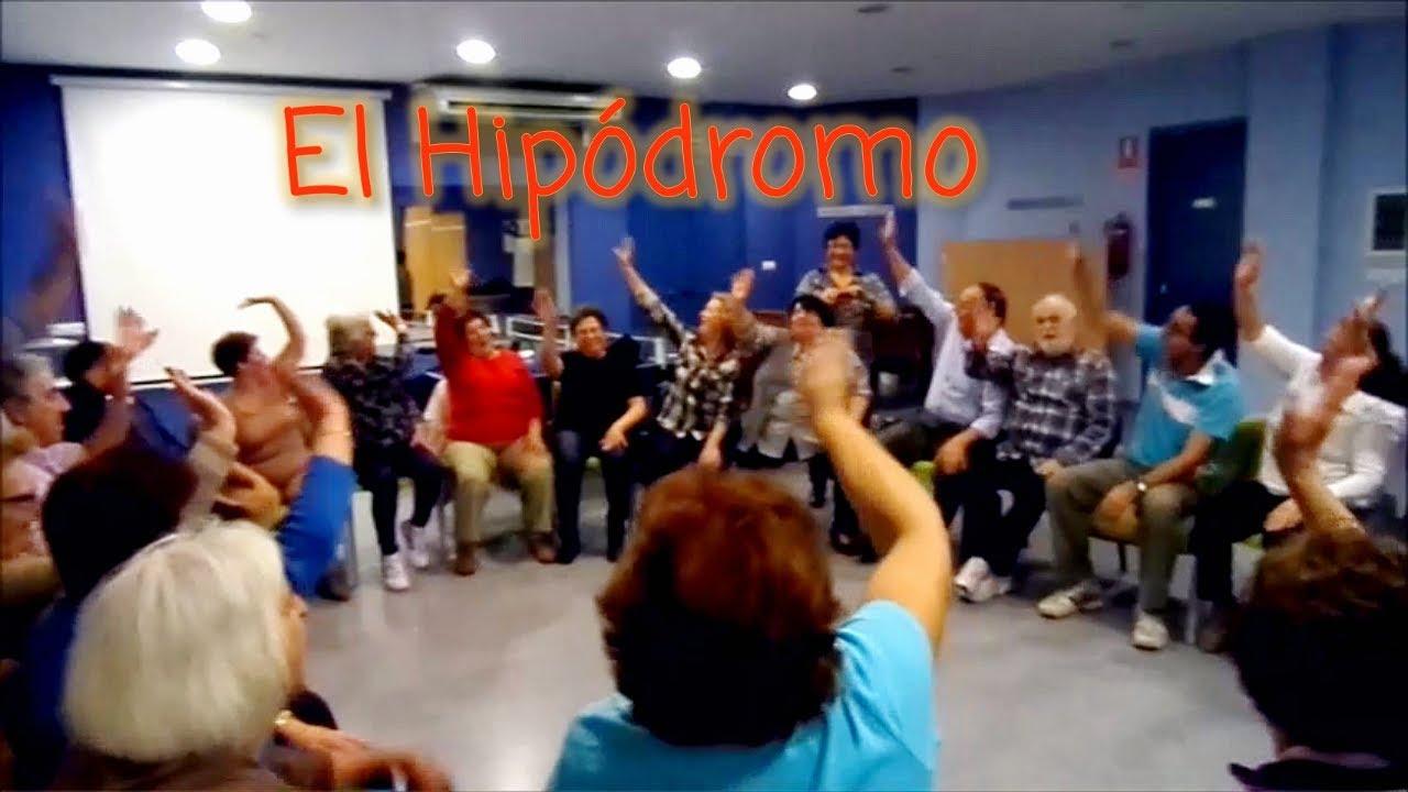 El Hipodromo Juego Para Ninos Y Mayores Ancianos Y Tercera Edad Y
