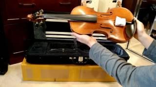 Yitamusic M20 Stradivari 1721 Kruse Copy Unboxing