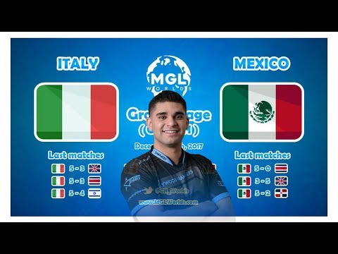 MGL MEXICO VS ITALY ELIMINATION MATCH ENGLISH CAST