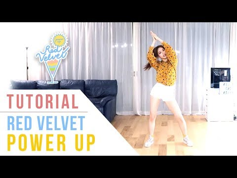 Red Velvet (레드벨벳) - Power Up Tutorial (Mirrored) | Ellen And Brian