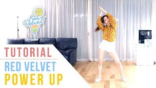 Red Velvet 레드벨벳 Power Up Tutorial Mirrored Ellen and Brian