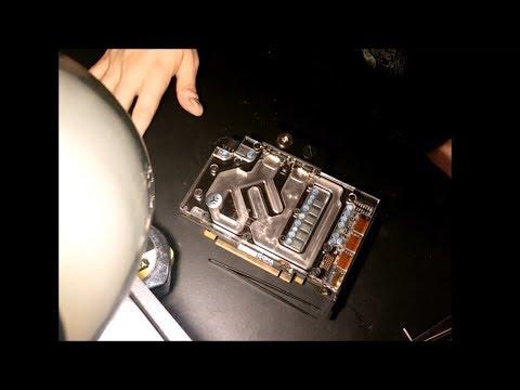 Taking apart an EK water block (RX-480)