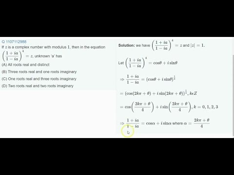 12 Tricks of Complex Variable for JEE Problems