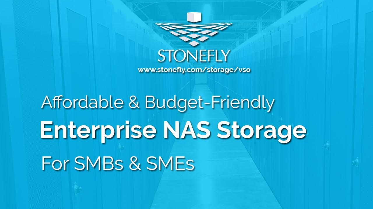 Affordable NAS Storage appliance with enterprise level features