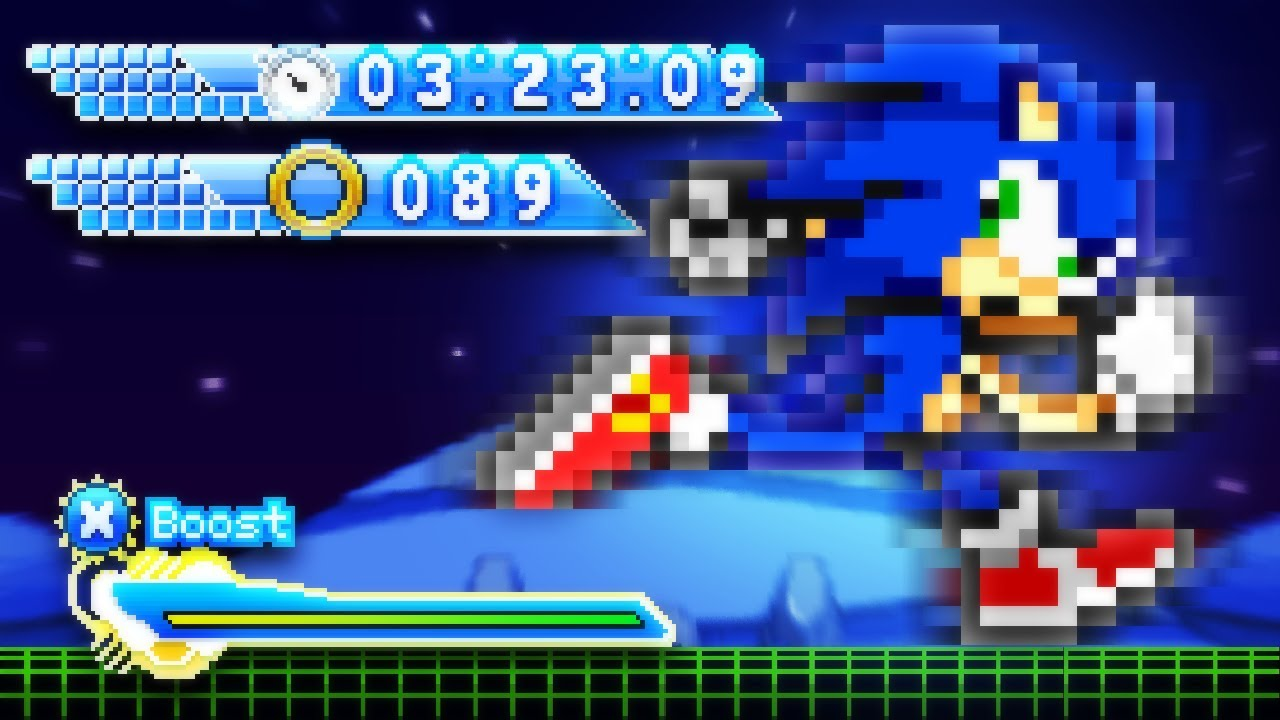 Sonic Cascade, a Modern 2D Game! (Pre-SAGE 2020 Tutorial)