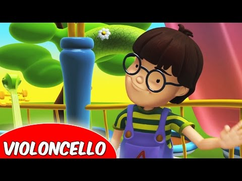 Alex and the Music  Episode 6  The Violoncello  Educational Animated s for Kids in Hindi