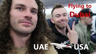 Flying to Dubai with TheStradman