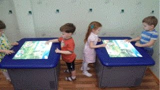 видео детский интерактивный стол цена