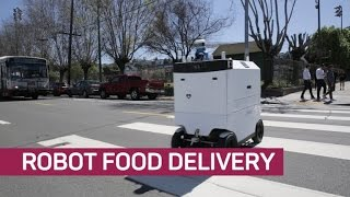 These robots are delivering food to your door
