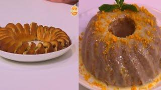 رول المكسرات - كيك زيت الزيتون وجليز البرتقال  | زي السكر حلقة كاملة