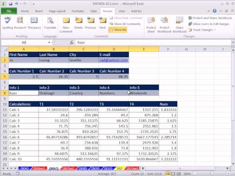 excel-magic-trick-807:protect-sheet-to-allow-data-enter-only-in-cells-with-raw-data