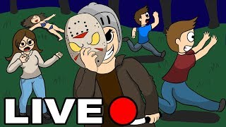 AO VIVO - Friday the 13th the Game ( GodeLive #6 )