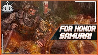 For Honor Samurai: The Pros And Cons Of The Weebs!!