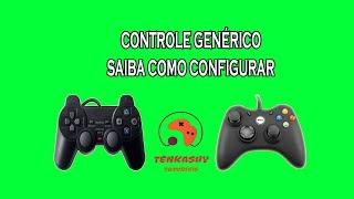 Como configurar o seu controle genérico no PC tipo PS2 ou XBOX 360