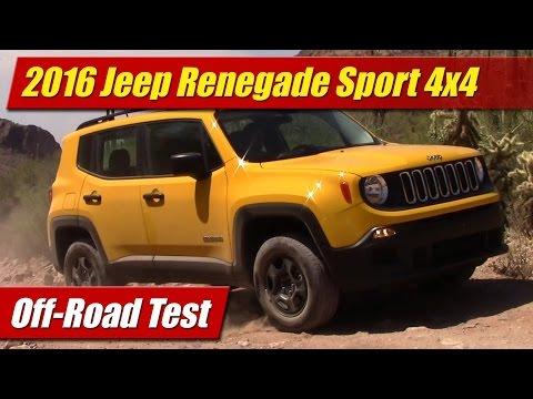 2016 Jeep Renegade Sport 4x4: Off-Road Test
