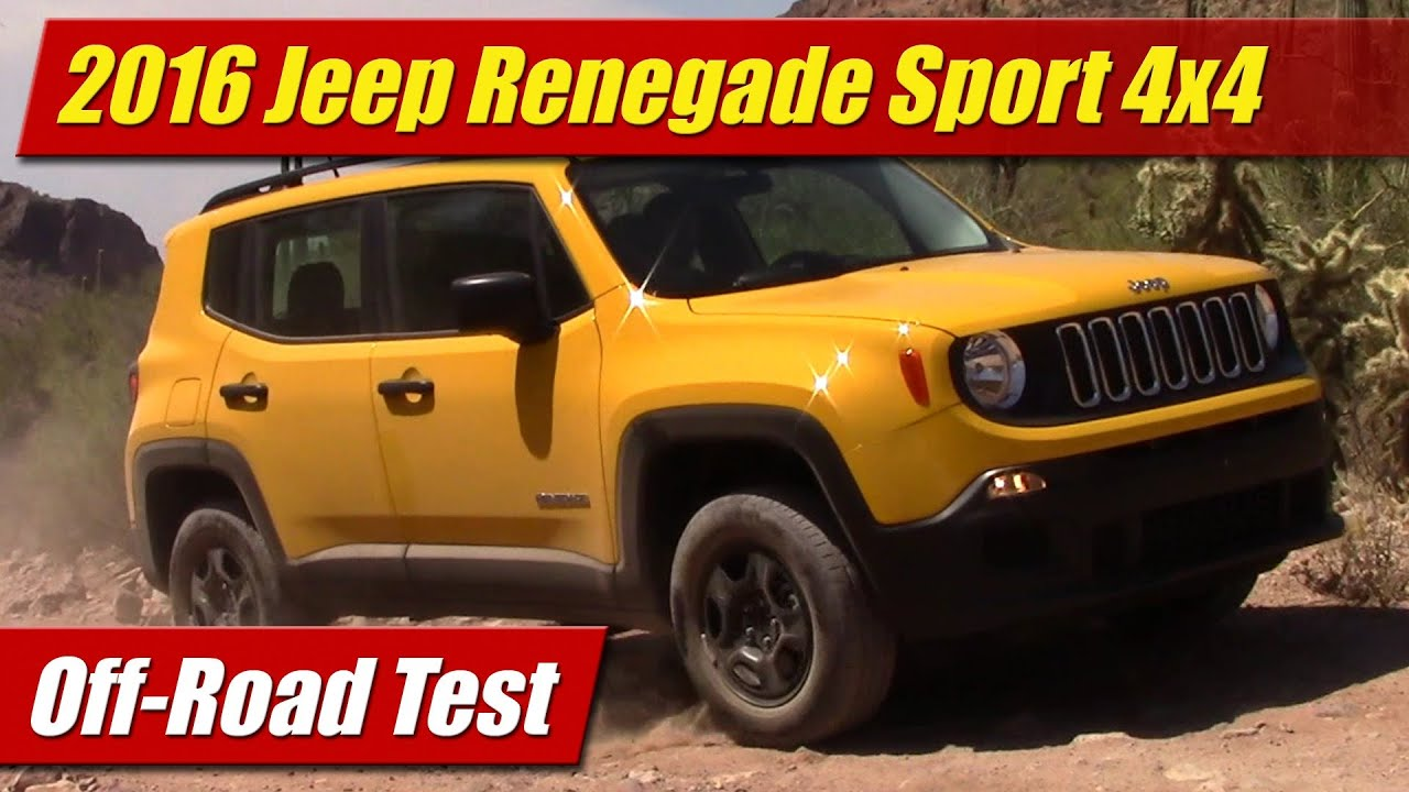 jeep renegade review tested on and off road youtube 2017. Black Bedroom Furniture Sets. Home Design Ideas
