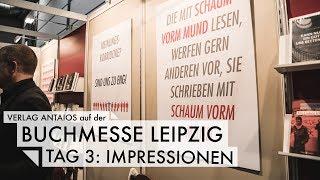Leipziger Buchmesse - Tag 3: Impressionen