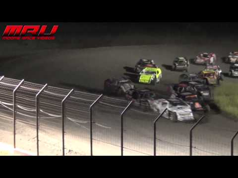 Modified Feature at the Iron Cup at Park Jefferson Speedway in Jefferson, SD on September 14th