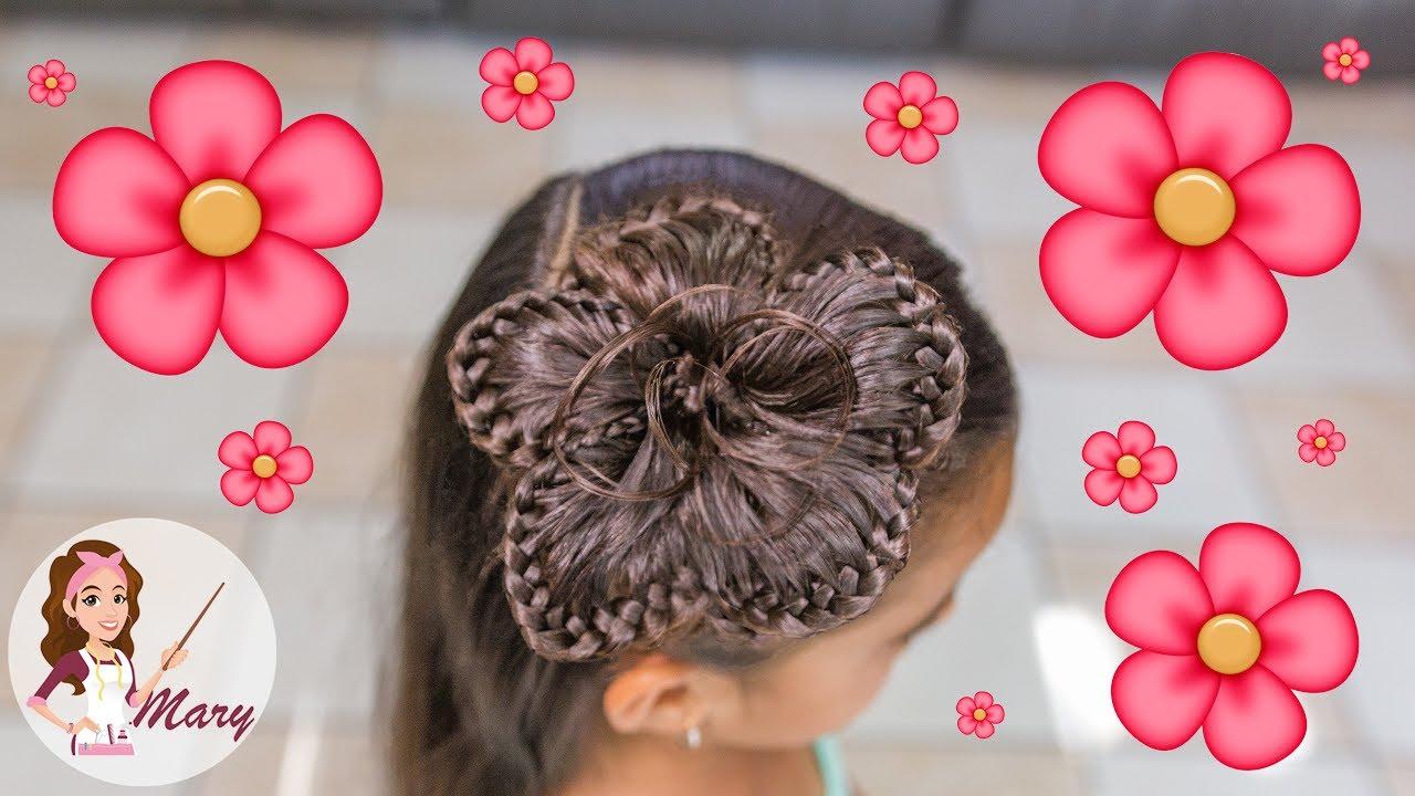 Videos peinados de flor
