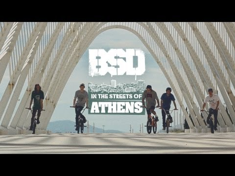 BSD BMX 'In the streets of ATHENS'