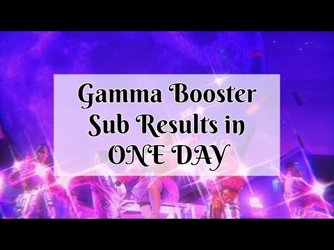 Gamma Booster - Get Results in One Day Strong Affirmations