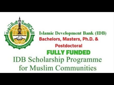 How to apply Islamic Development Bank Scholarship 2019  part 1