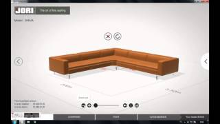 Furniture configurator JORI - part 2