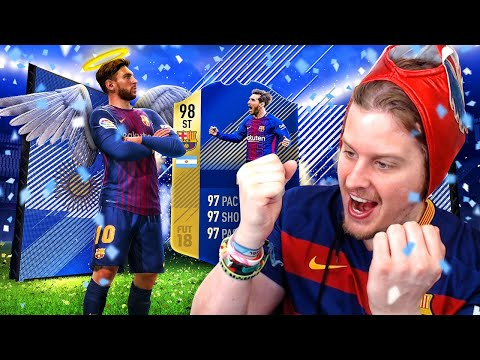 THE STRONGEST MESSI! 98 TOTS STRIKER MESSI! FIFA 18 ULTIMATE TEAM