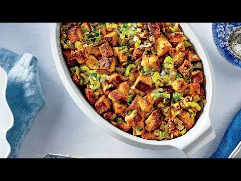 Cornbread Dressing With Sausage And Fennel | Southern Living