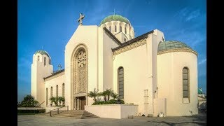 St SOPHIA of Los Angeles.  ΑΓΙΑ ΣΟΦΙΑ Magnificent Greek Orthodox church.