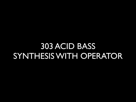 HOW TO MAKE A 303 ACID BASS IN OPERATOR - EMP BASS COURSE PREVIEW