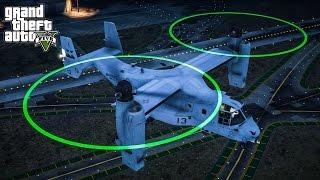 pojzplaza ส ดยอดเคร องบ นขนส ง usmc mv 22b osprey mod gta5