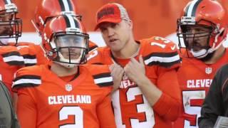 Browns Josh McCown on playing with rib injury Thursday vs. Bengals