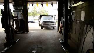 '87 CHEVY DUMP TRUCK - 6.2 L DIESEL START UP