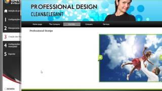 Criar um site com o WebSite X5 v10 - Vídeo Tutorial