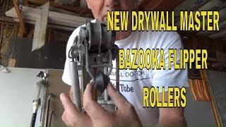 Drywall Master New Bazooka Flipper Roller