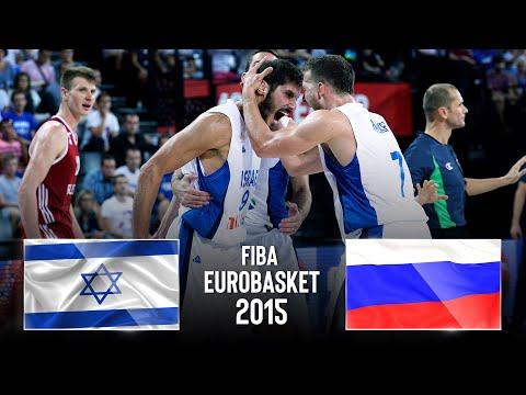 Israel 🇮🇱 V Russia 🇷🇺 | Classic Full Games - FIBA EuroBasket 2015
