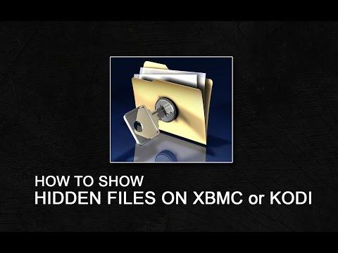 Show Hidden Files on Xbmc or Kodi