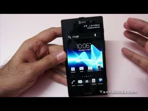 Sony Xperia Ion Hands On Overview - Geekyranjit
