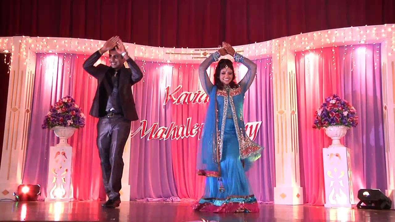 Malaysian indian wedding reception of kavi maha youtube junglespirit Image collections