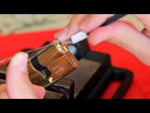 Взлом отмычками ISEO F5   51 - Lockpicking ISEO F5 paquete de Asturias ()